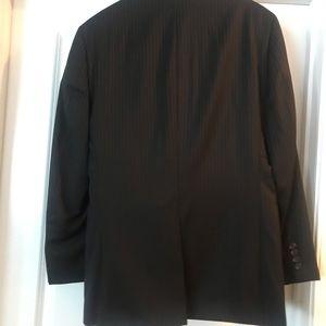 Ralph Lauren Black Pinstripe Suit/Pants is 33/32L
